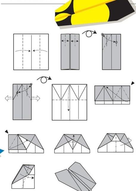 Cómo construir el mejor avión de papel