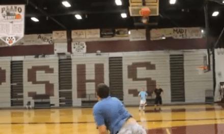 Duelo de puntería: baloncesto vs frisbee