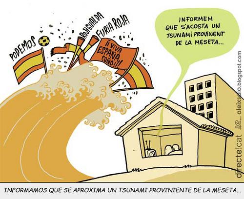 Humor: Tsunami futbolero