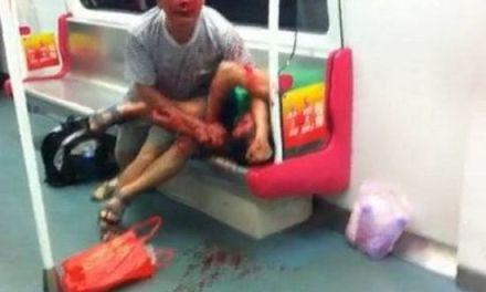 El ataque canibal de un jubilado en el metro [NSFW]