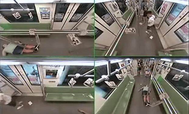 ataque de pánico metro shanghai