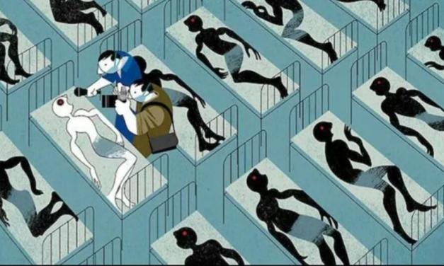 A río Ébola revuelto, ganancia de los medios