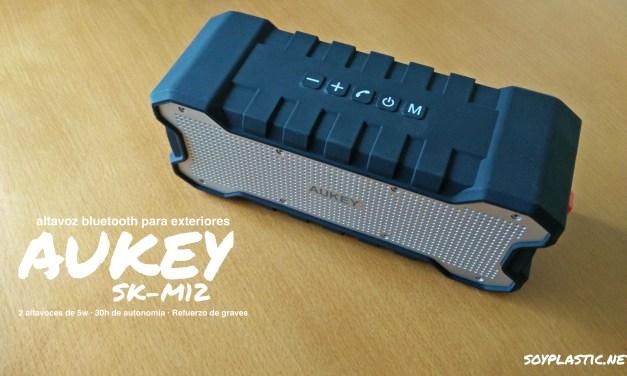 Análisis: Aukey SK-M12, un altavoz BT que destaca por su potencia y autonomía