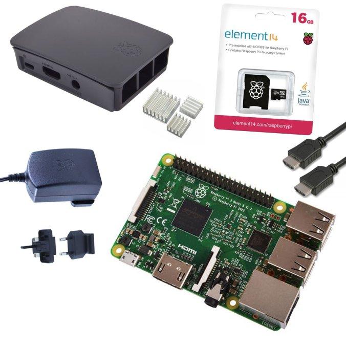 Kit Raspberry Pi 3