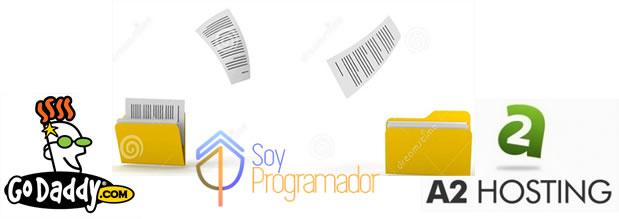 godaddy to A2hosting soy programador liz mx