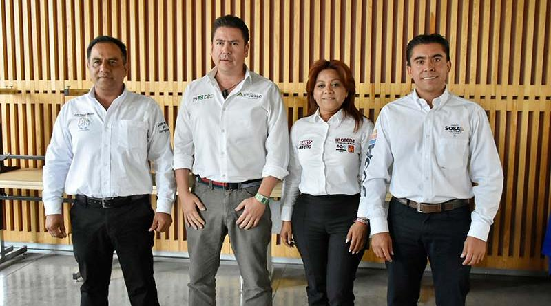 Candidatos a la presidencia municipal de Corregidora presentan sus ejes de propuestas