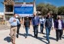 Supervisan obra de reconstrucción de la escuela primaria de El Colorado, El Marqués