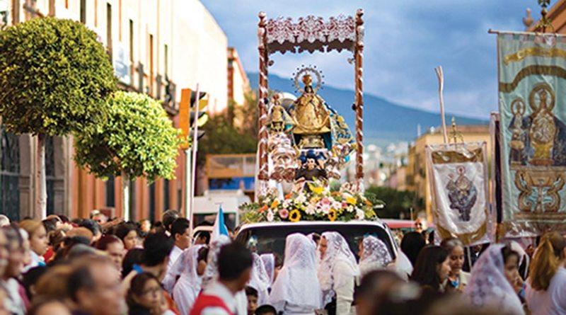 Gran algarabía y fiesta por el regreso de La Santísima Virgen de El Pueblito a su Santuario
