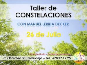 """Taller Constelaciones Sistémicas Torrevieja"""