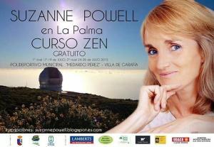 """Suzanne Powell en la isla de la Palma"""