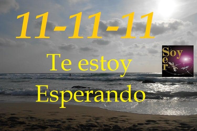 """""""11 de """"Noviembre de 2018 Vibración 11-11-11"""