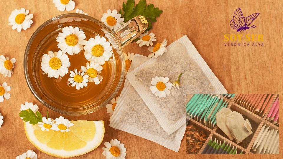 """""""Tus aceites de masaje a partir de bolsitas de té…"""""""