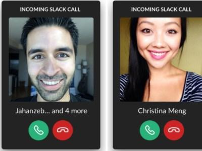 slack llamadas voz