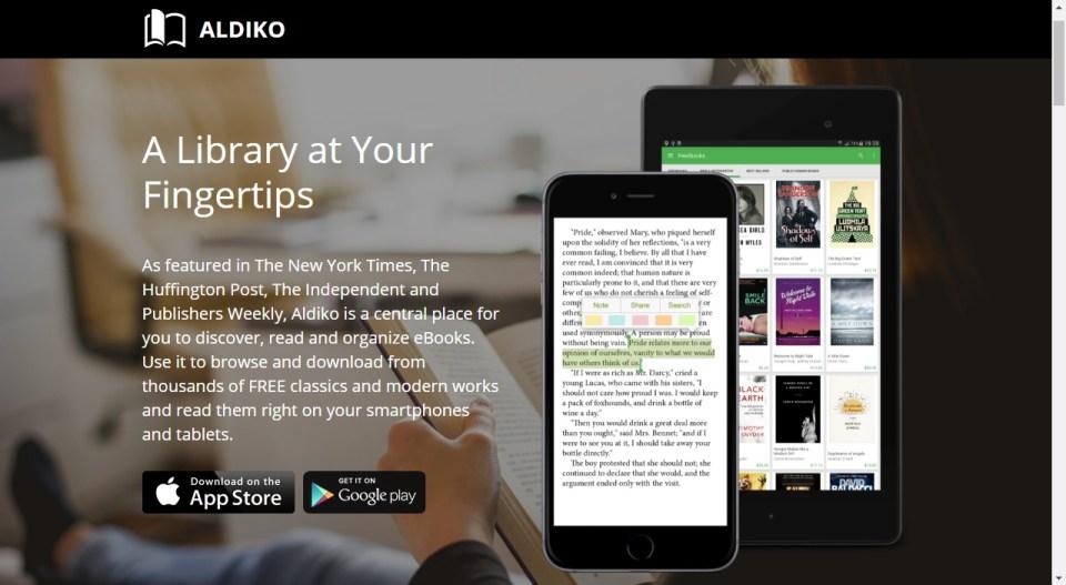 aldiko app