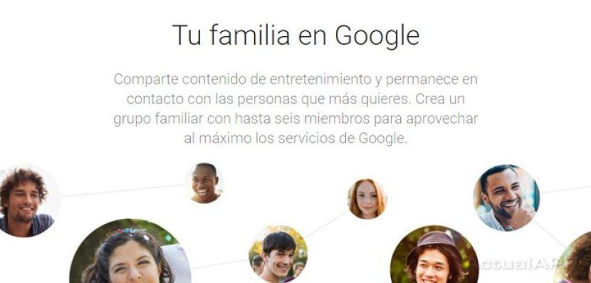 Grupo familiar en Google Calendar