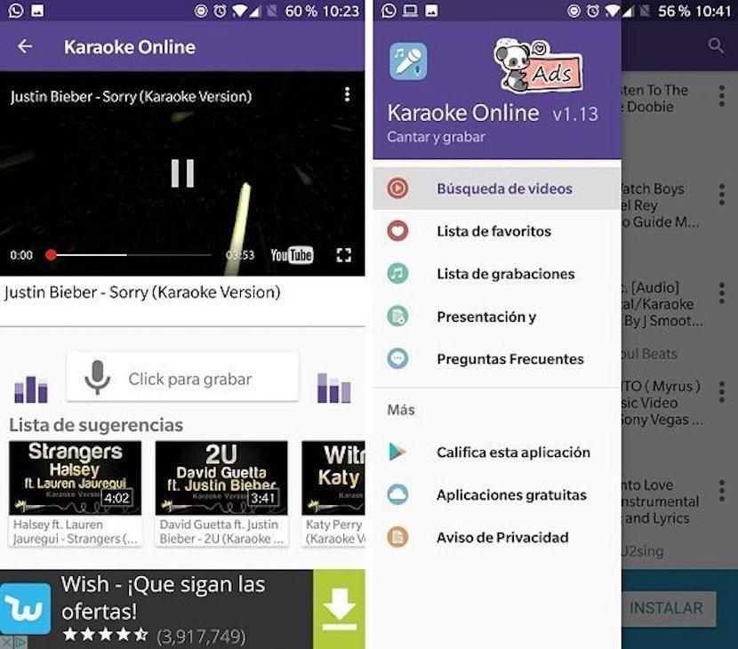 Karaoke Online- Canta y graba