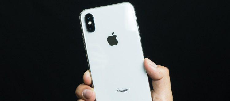 iPhone X con ios 12