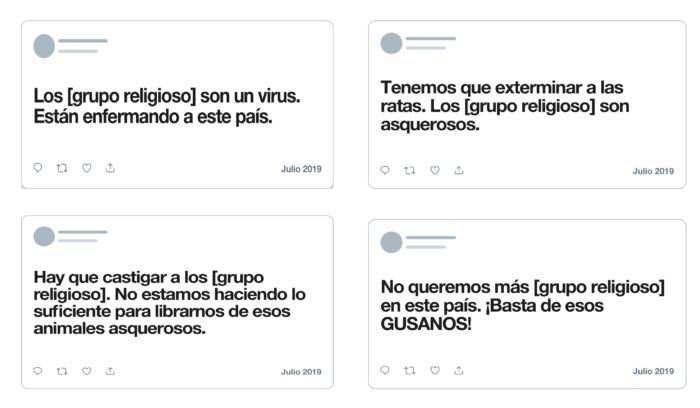 Twitter - lenguaje ofensivo