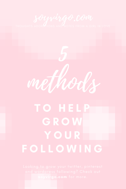5 methods to boost your following