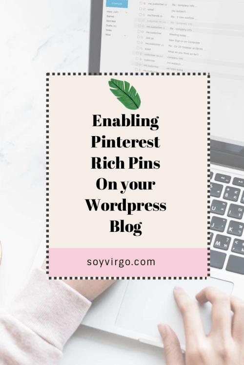 enable rich pins for wordpress