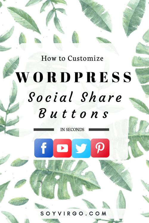 social share buttons wordpress