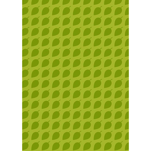 背景画像 濃いめの緑色の葉っぱ柄1(カラー)