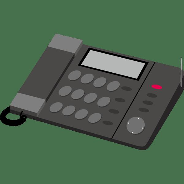 ビジネス FAX電話(黒)(カラー)