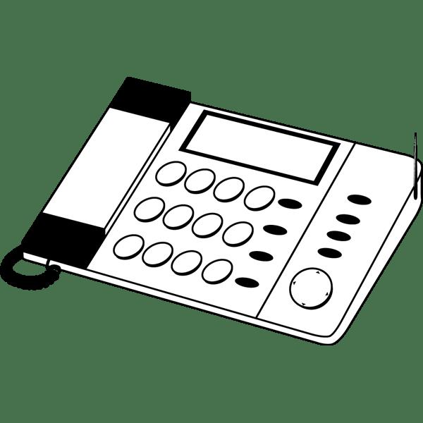 ビジネス FAX電話(モノクロ)