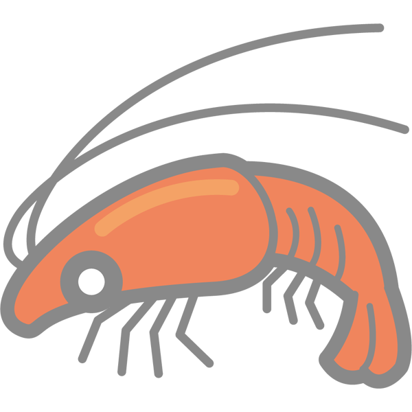 食品 海老(エビ)(カラー)