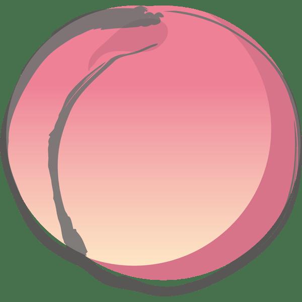 食品 桃(もも)(カラー)