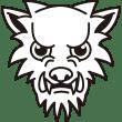 年中行事 狼(オオカミ)(モノクロ)