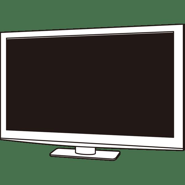 家庭・生活 テレビ(液晶テレビ)(モノクロ)