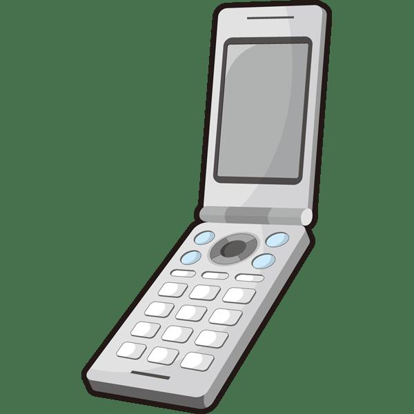 家庭・生活 携帯電話(カラー)