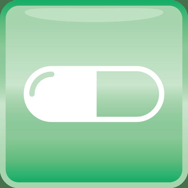 医療 薬(カプセル)アイコン(カラー)