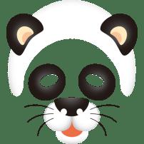 被りもの(パンダ)(カラー)
