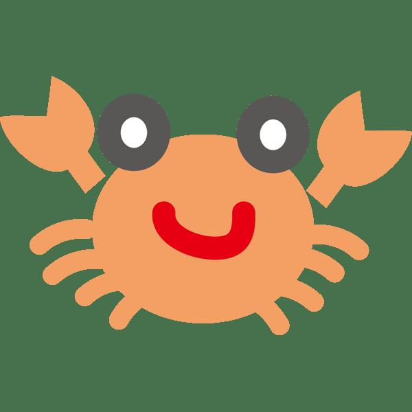 年中行事 蟹(カニ)(カラー)