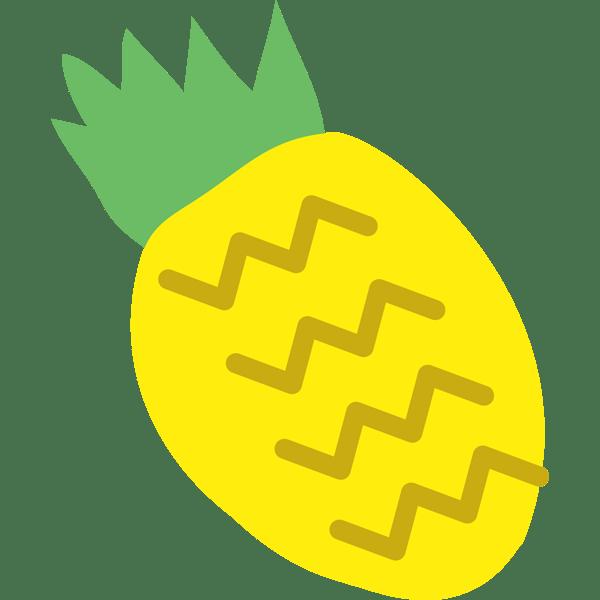 年中行事 パイナップル(カラー)