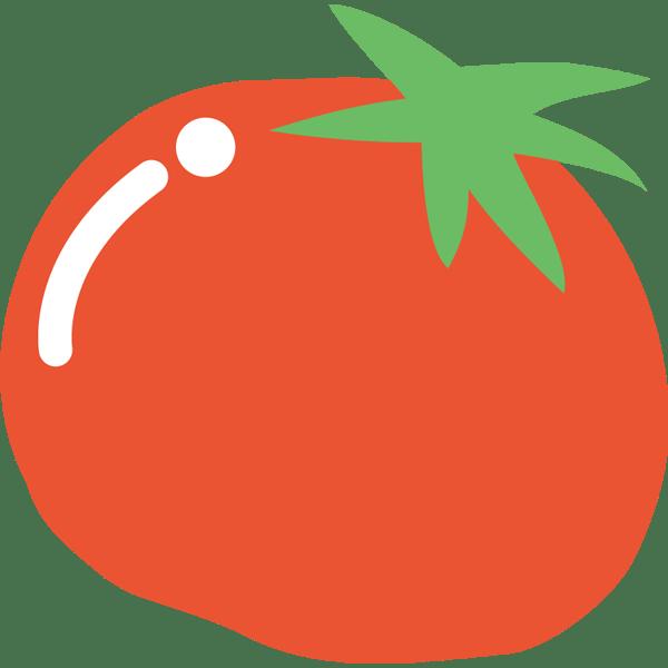 年中行事 トマト(カラー)