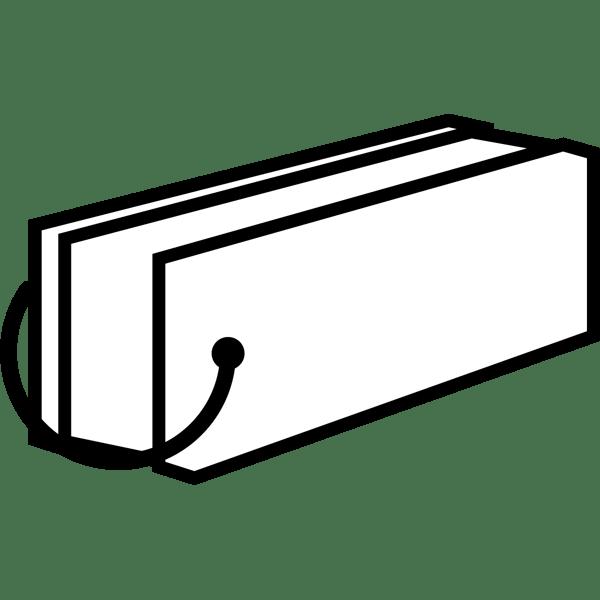 学校 単語帳(モノクロ)