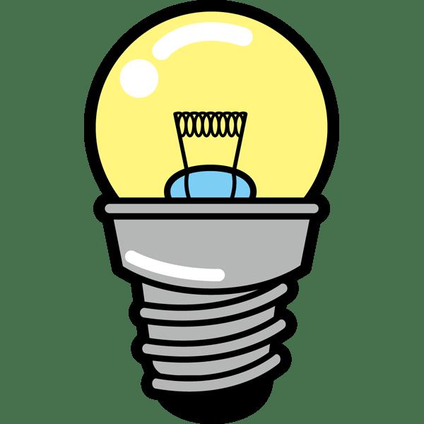 学校 豆電球(カラー)