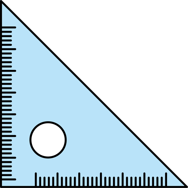 学校 三角定規カラー 無料イラストpowerpointテンプレート配布