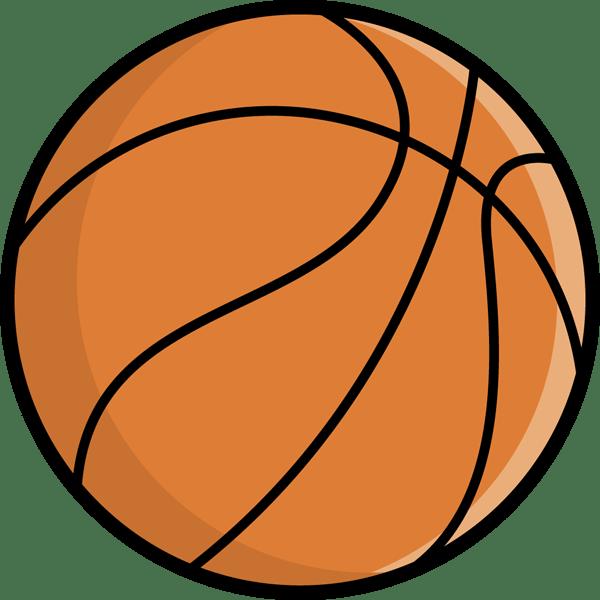 スポーツ バスケットボールカラー 無料イラストpowerpoint