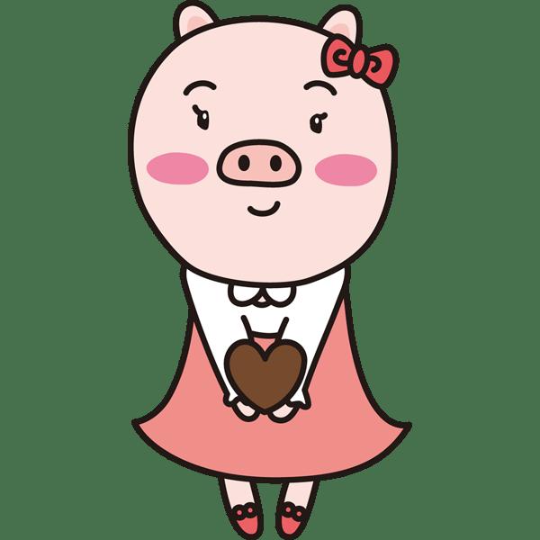 年中行事 バレンタインプレゼント(女の子)(カラー)
