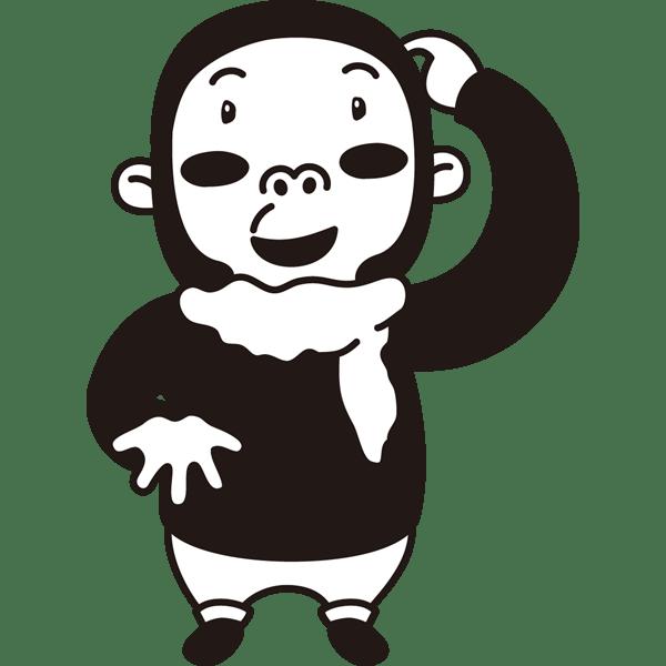 年中行事 バレンタインプレゼント(男の子)(モノクロ)