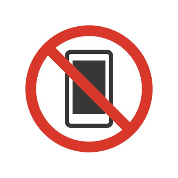 ビジネス 携帯電話使用禁止(ア...