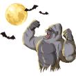 ゴリラ 満月 コウモリ