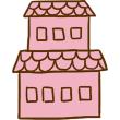 家3(ピンク)