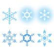 雪の結晶セット