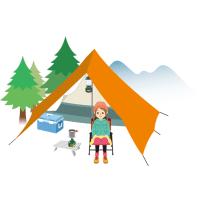 ソロキャンプ 1人 女性