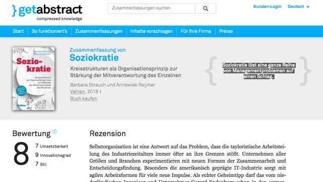 Bildschirmfoto 2018 06 14 um 14.00.47 - Soziokratie - Das Buch (NEU)
